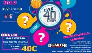 Gigantes pasa a formar parte del II Over40Basket Valencia