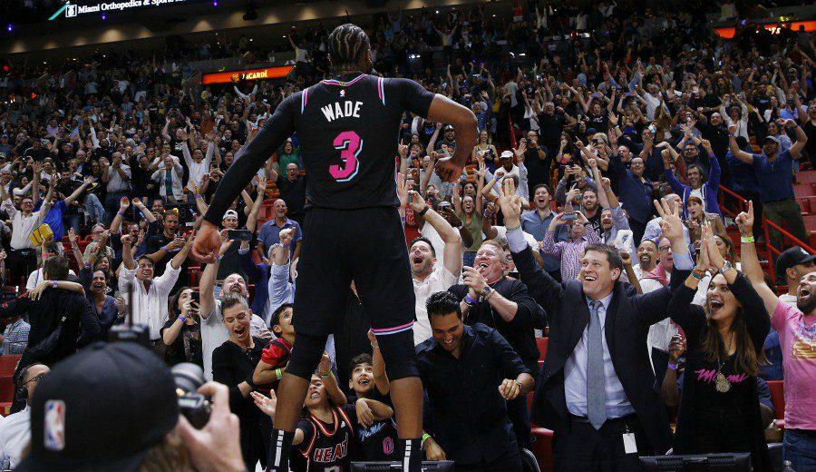Dwyane Wade y su particular agradecimiento a los trabajadores de los Heat