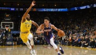 Devin Booker devuelve a la Tierra a los actuales campeones de la NBA