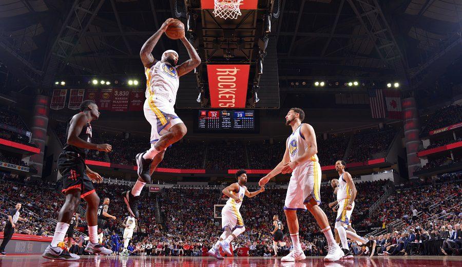 Los Warriors ganan a los Rockets con un Cousins que asusta: sus datos