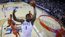 Zion Williamson vuelve a lo grande en la NCAA