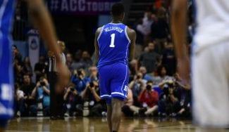 El palmeo de Zion Williamson para meter a Duke en la final de la ACC