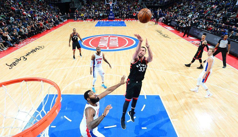 Marc Gasol roza el triple-doble… y los Raptors rozan la victoria