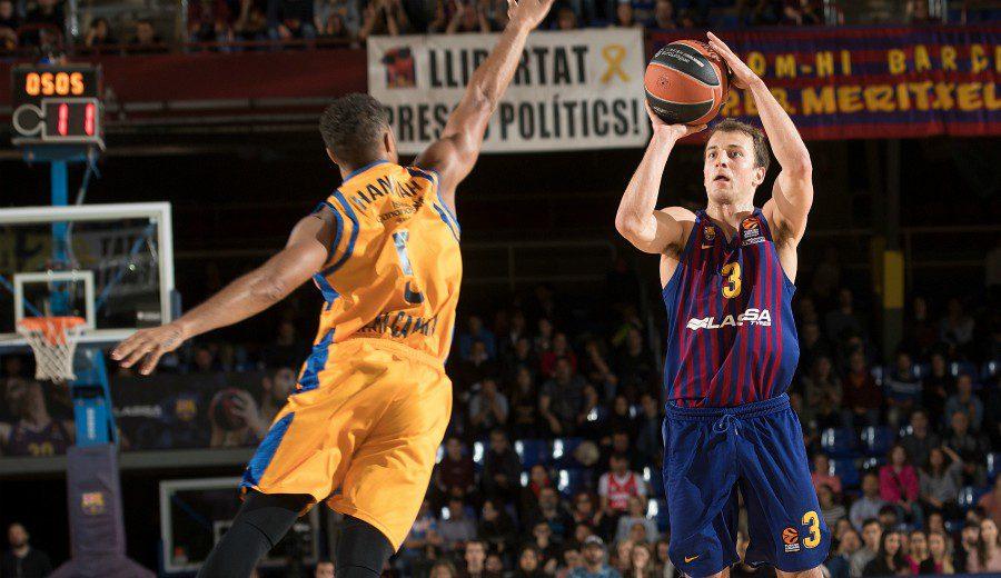 El Barcelona Lassa acribilla a triples al Herbalife Gran Canaria