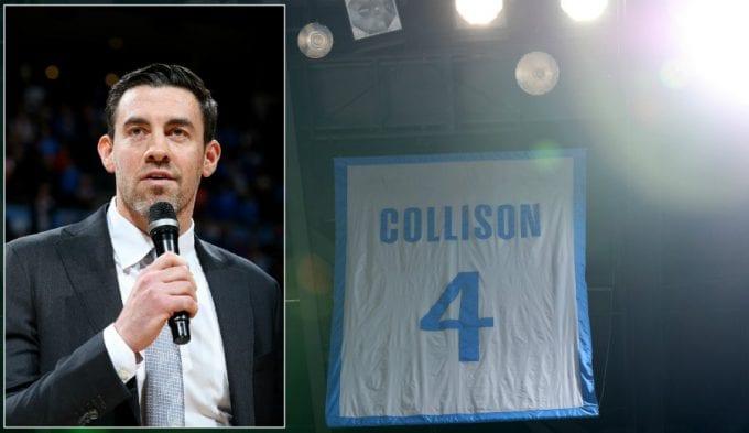 Nick Collison ve su número retirado por los Oklahoma City Thunder