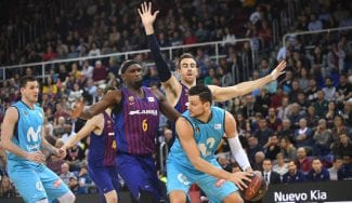 El Estudiantes cae en casa de un Barça más líder: Gentile, expulsado