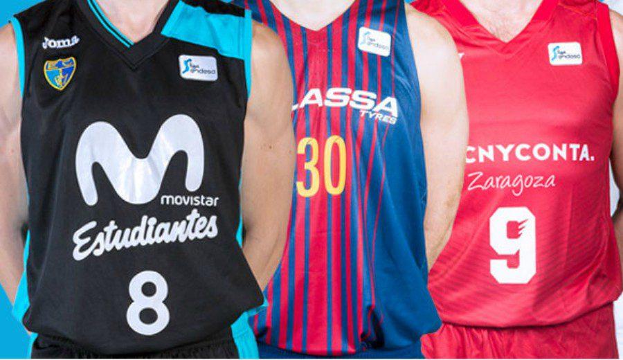 5ba11091212b7 Así han ido envejeciendo las camisetas de los equipos de la Liga Endesa