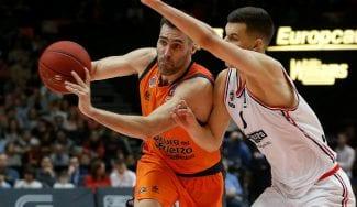 Fernando San Emeterio continuará en el Valencia en su vuelta a la Euroliga