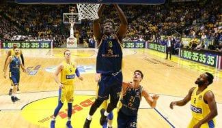 Dura derrota del Gran Canaria ante el Maccabi en el debut de Khalifa Diop