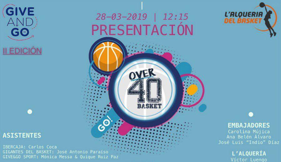 Resumen de la 2ª edición Over40 Basket celebrada en L'Alqueria