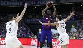 El Barcelona gana de nuevo al Madrid y afianza el liderato en la Liga Endesa