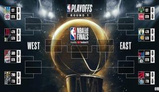 Cuadro definitivo: Así queda la primera ronda de playoffs en la NBA