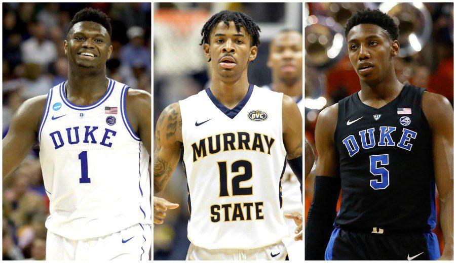 Unanimidad en las predicciones del Draft 2019: Zion, Morant y Barrett