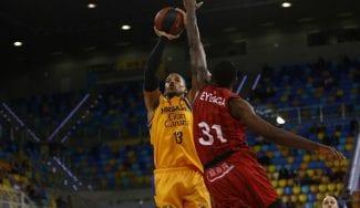 EulisBáez, un padre orgulloso en la ACB Gran Canaria Kids Cup