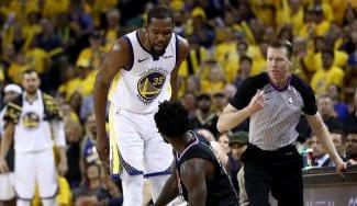 Durant se carga a los Clippers con 50 puntos: el Warriors-Rockets está servido