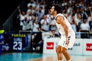Otro reconocimiento para Campazzo: MVP de abril en la Liga Endesa