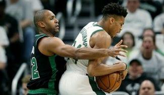 Los Celtics sorprenden a los Bucks y se adelantan secando a Antetokounmpo