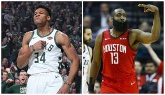 Milwaukee y Houston arrasan en su estreno en los Playoffs 2019