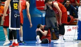 Marko Popovic estará de 4 a 6 semanas de baja