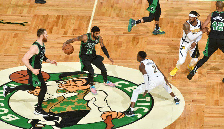 Boston Celtics golpean primero en su serie contra Indiana Pacers