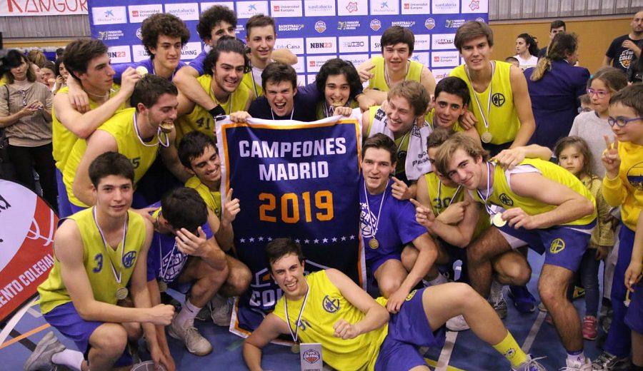 Estudio y Los Sauces, campeones de la Copa Colegial madrileña