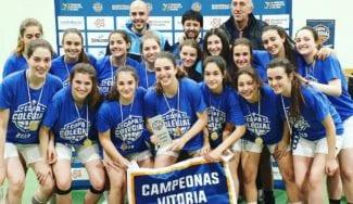 Copa Colegial: Valladolid y Vitoria ya tienen campeones