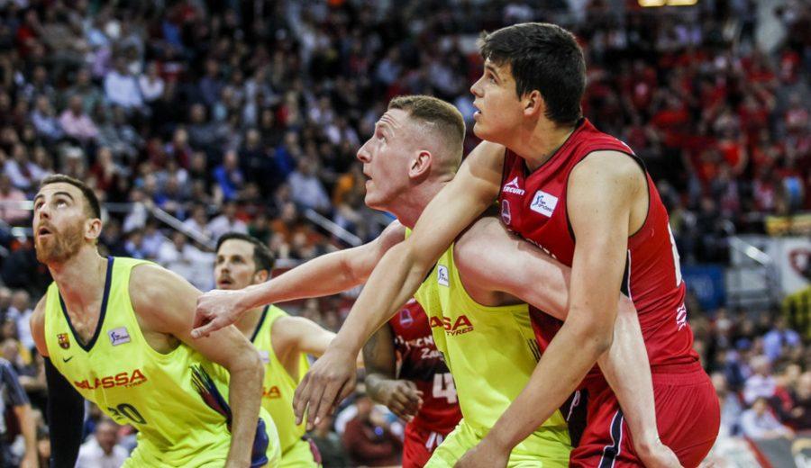 El Barcelona Lassa sufre hasta el último segundo para ganar al Tecnyconta Zaragoza