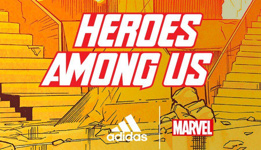 adidas y Marvel homenajean a los héroes más poderosos del baloncesto