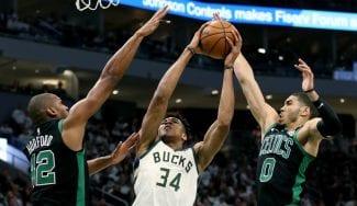 Horford frena a Anteto y lidera el Top5 de la jornada NBA