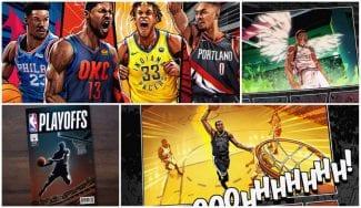 La NBA presenta unos Playoffs 2019 que darían para un cómic