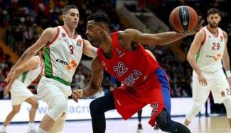 El CSKA remonta en el último cuarto y gana a KirolBet Baskonia