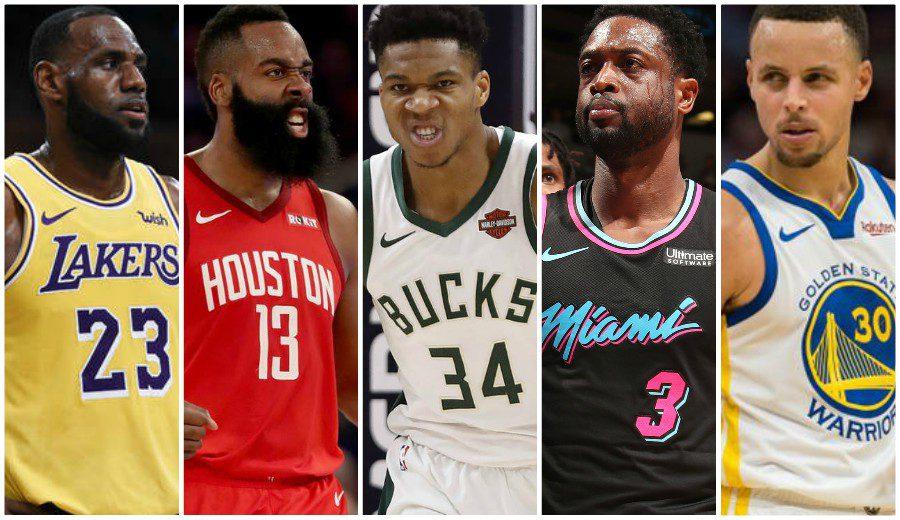 Las estrellas de la NBA, a golpe de 'highlight'