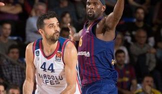 El Barcelona se crece, gana y fuerza el quinto partido ante el Efes