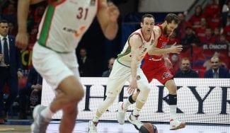 KirolBet Baskonia empata la eliminatoria ganando al CSKA en Moscú