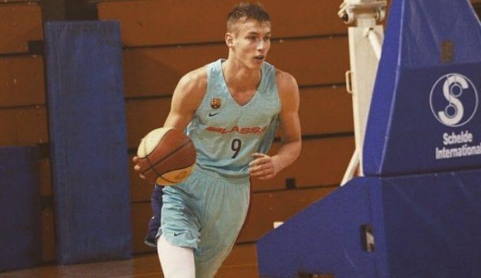 """El ex del Barça Luka Samanic, al Draft: """"De pequeño hacia Break Dance"""""""