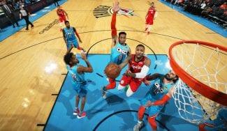 OKC no se rinde: Westbrook, fundamental ante un histórico Lillard