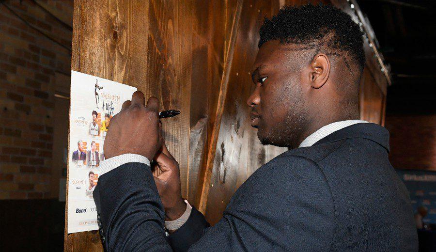 Oficial: Zion Williamson, favorito al pick 1, se presenta al draft