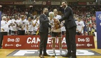 Spar CityLift Girona destrona a Perfumerías Avenida y gana la Liga DIA