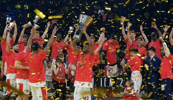 La Octava del CSKA, guiados por el acierto triple. Segunda corona del Chacho y Clyburn MVP
