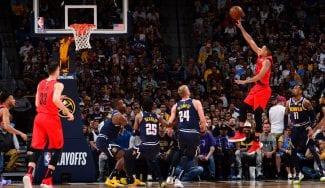 Portland gana a Denver y se medirá a los Warriors: letal C.J. McCollum