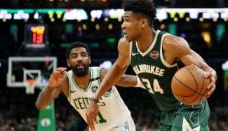 Milwaukee Bucks se adelanta en la serie contra Boston Celtics