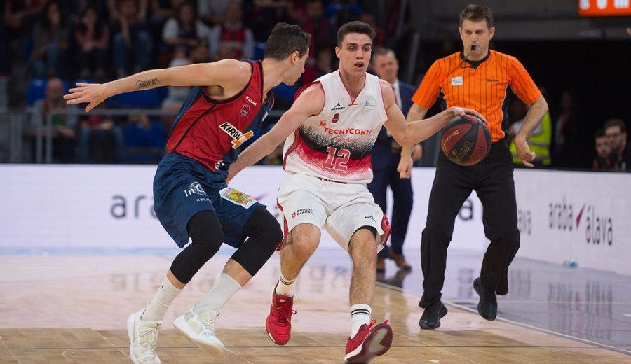 Tecnyconta Zaragoza toma el Buesa Arena en la apertura del 'playoff'