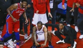 Espectacular spot de los Raptors: el canastón de Kawhi 'a través de sus ojos'
