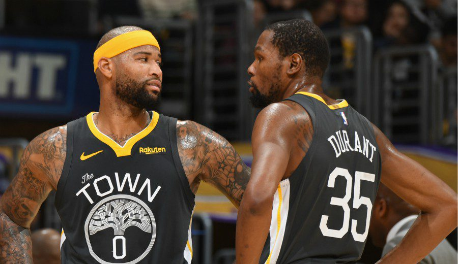Durant y Cousins no llegan al inicio de la Finales de la NBA