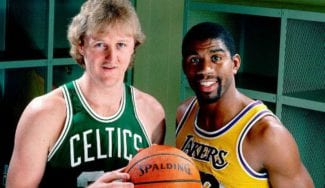 La NBA premia la rivalidad entre Magic Johnson y Larry Bird