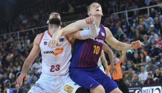 El Baskonia gana en el Palau y pone en peligro el liderato del Barcelona
