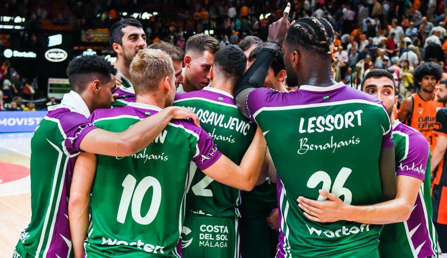 Unicaja empieza con victoria y paso firme el Playoff 2019