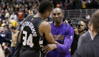 Kobe Bryant, sobre el Leonard-Antetokounmpo: «Un duelo épico»