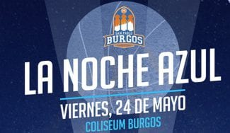 """El San Pablo Burgos presenta """"La Noche Azul"""""""
