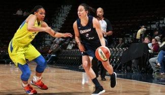 Empezó la WNBA: canasta ganadora y Maite Cazorla aún sin minutos